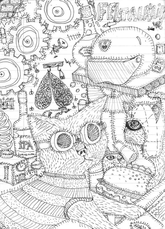 Pásztor Emma rajza