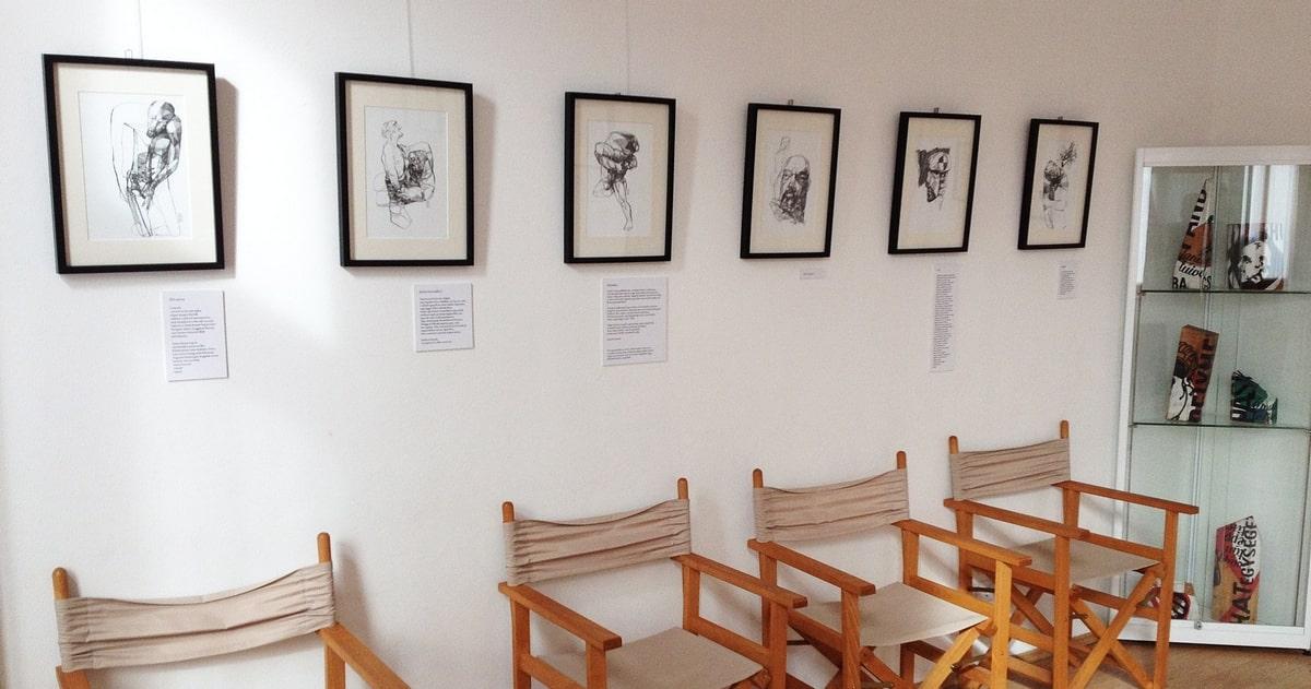 Veress Tamás kiállításának részlete (Sigil Galéria, 2019)