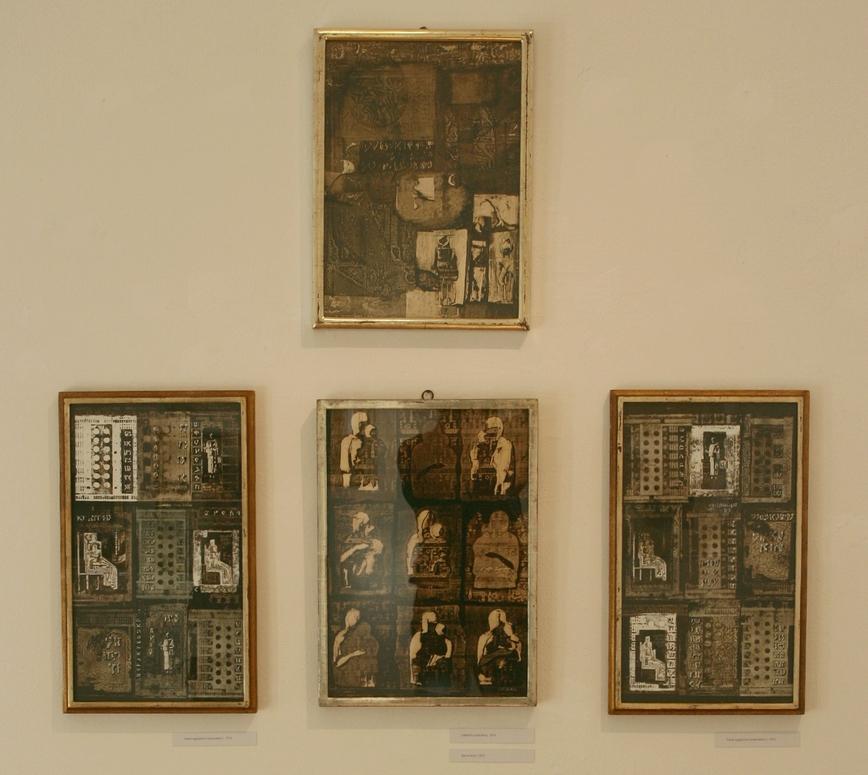A kiállítás részlete (Zsubori Ervin felvétele)