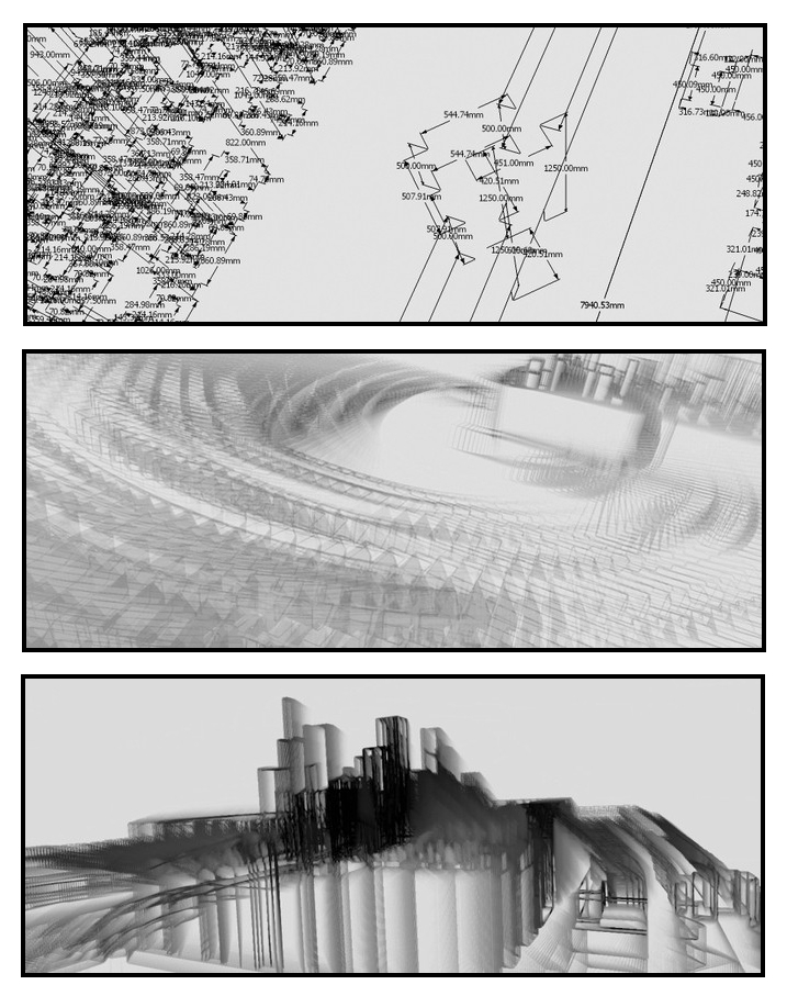 Tasnádi József: Zevgár variációk, 2007 (három részlet a sorozatból)