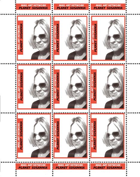Susanna Lakner bélyegíve