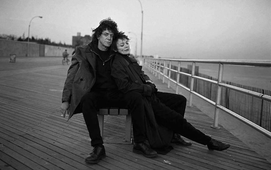 Annie Leibovitz: Lou Reed and Laurie Anderson, Coney Island, New York, 1995