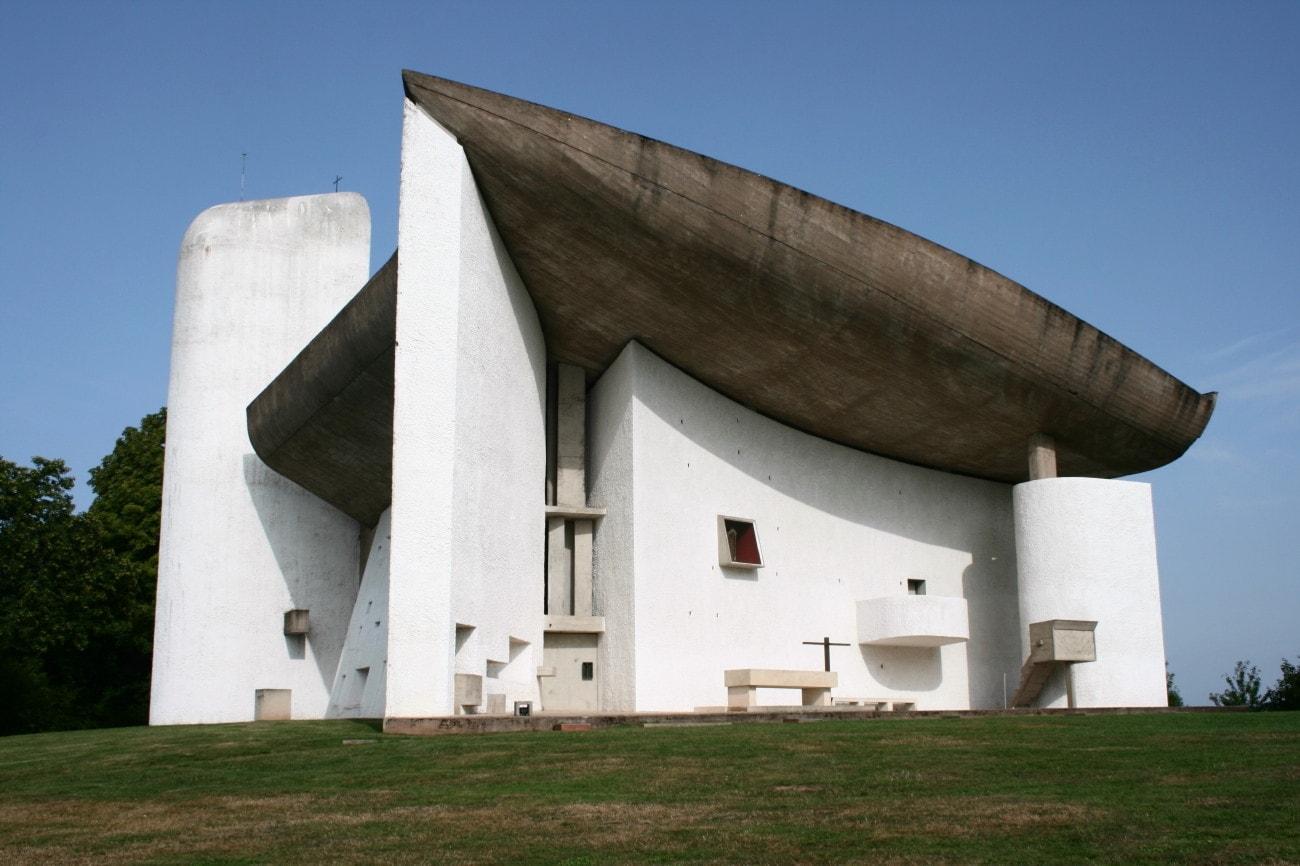A ronchampi templom (Fotó: Draskovich Edina)