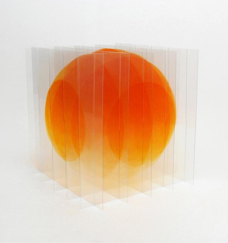 Go Segawa: Orange dégradé, 2017