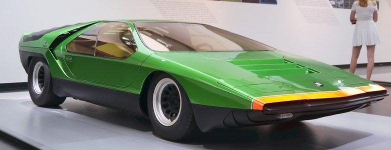 Az Alfa Romeo Carabo az Arese-i múzeumban