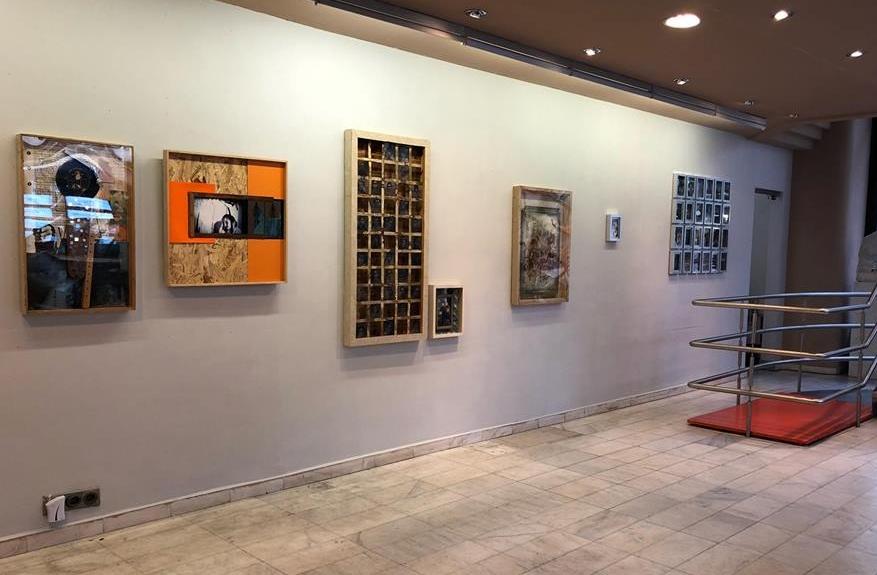 A kiállítás részlete